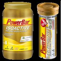Aanbieding PowerBar IsoActive 1320 gram + Gratis Tub Electrolyte Tabs
