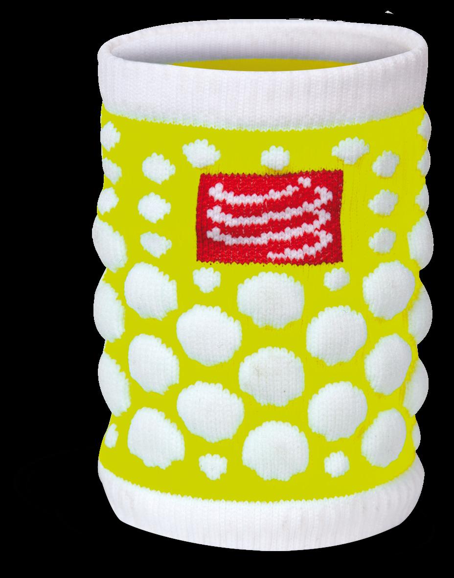 Compressport Zweetband 3d Dots Fluo Accessoires