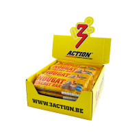 3Action Nougat Energy Bar - 20 x 40 gram