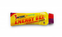 Aanbieding 3Action Energy Gel - Strawberry Cassis - 34 gram (THT 31-5-2019)