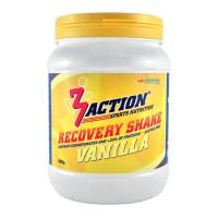Aanbieding 3Action Recovery Shake Vanilla 500 gram + Gratis 3Action Shakebeker