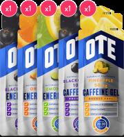 Proefpakket OTE Energy Gel met 5 energiegels