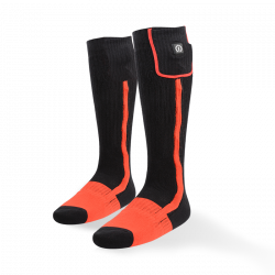 Klan-e Electric Heated Socks - Zwart/Oranje