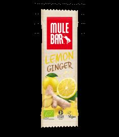 Aanbieding MuleBar Energy Bar - Lemon Ginger - 40 gram (THT 7-8-2019)