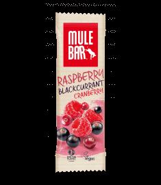 Aanbieding MuleBar Energy Bar - Raspberry Blackcurrant Cranberry - 40 gram (THT 7-9-2019)