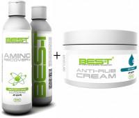 Aanbieding BES-T Amino Recovery - 250 ml + Gratis BES-T Anti Rub Creme - 250 ml