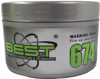 BES-T Warming Cream 674 - Fire Up - 250 ml