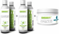 BES-T Amino Endurance + BES-T Amino Recovery + Gratis BES-T Anti Rub Creme - 250 ml