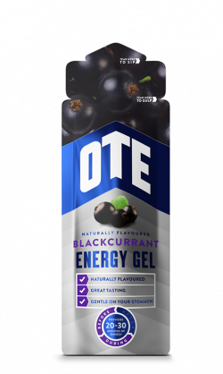 OTE Energy Gel - Blackcurrant - 20 x 56 gram