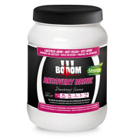 Aanbieding BOOOM Recovery Drink - Strawberry - 800 gram