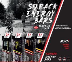 Aanbieding Born Sixpack Energy Bars (2 Flapjack + 4 Xtra Bar)