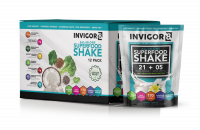 Aanbieding BRL INVIGOR8 Superfood Shake - 12 x 43 gram
