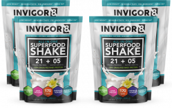 INVIGOR8 Superfood Shake - 4 x 43 gram