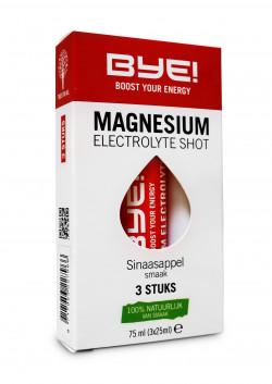 BYE! Magnesium Electrolyte Shot - 3 x 25 ml