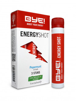 BYE! Energy Shot - 3 x 25 ml