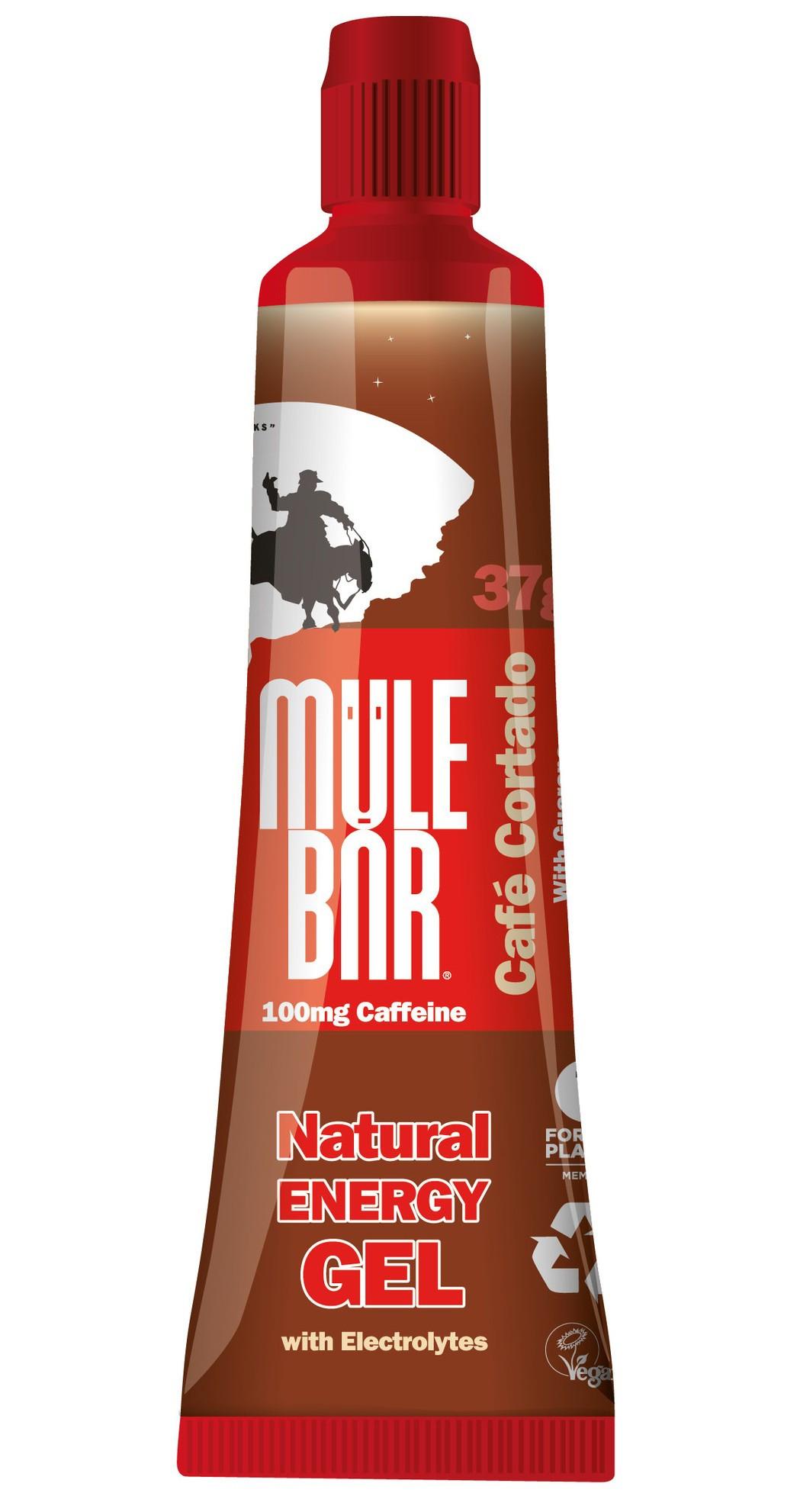 Aanbieding Mulebar Natural Energy Gel Cafe Cortado 37