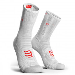 Compressport Pro Racing Socks v3.1 Compressiesokken - Wit