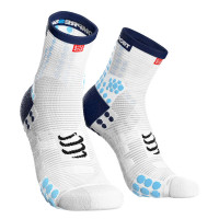 Compressport Pro Racing Socks v3.1 Run High Compressiesokken - Wit