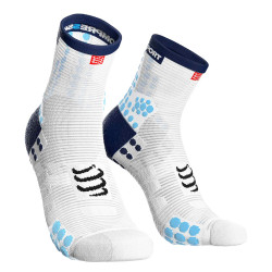 Compressport Pro Racing Socks v3.1 Run High Compressiesokken - Wit