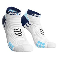 Compressport Pro Racing Socks v3.1 Run Low Compressiesokken - Wit
