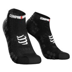 Compressport Pro Racing Socks v3.1 Run Low Compressiesokken - Zwart