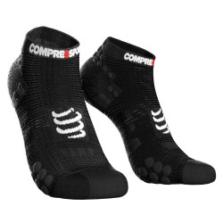 Compressport Pro Racing Socks v3.1 Run Low - Zwart