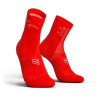 Compressport Pro Racing Socks v3.1 Ultralight Bike Compressiesokken - Rood