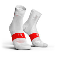 Compressport Pro Racing Socks v3.1 Ultralight Bike Compressiesokken - Wit