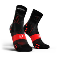 Compressport Pro Racing Socks v3.1 Ultralight Bike - Zwart/Rood