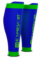 Compressport R2 v2 Compressiekousen - Blauw