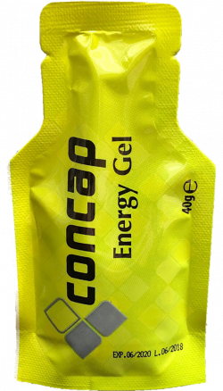 Concap Energy Gel - 40 gram - 5 + 1 gratis