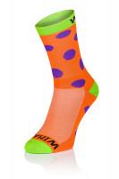 Winaar OGV dots - Oranje-Groen Met Paarse Stippen