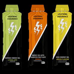 Aanbieding Lightning Energy Gel - 10 x 60 ml