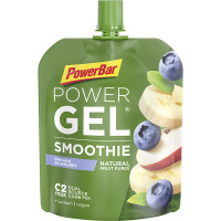 Aanbieding PowerBar Powergel Smoothie - Banana Blueberry - 90 gram (THT 31-5-2020)