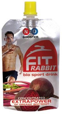 Aanbieding fitRABBIT - bio sport drink - 85 ml (THT 11-10-2018)