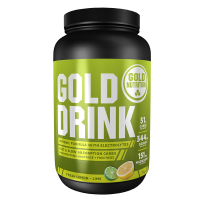 GoldNutrition Gold Drink - Lemon/Lime - 1000 gram