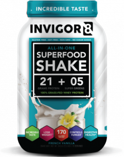 Afslankdeal Lipodrift + 20x Concap L-Carnitine + INVIGOR8 Superfood shake