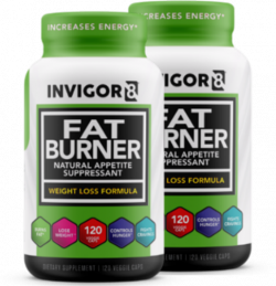 INVIGOR8 Fat Burner - 120 capsules (2 pack)
