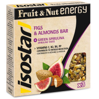 Isostar Fruit & Nut Energy Bar - 3 x 40 gram