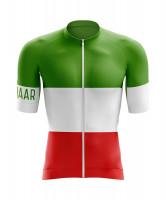 Winaar Italy Fietsshirt korte mouw - Italiaanse vlag