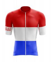 Winaar RWB Fietsshirt korte mouw - Nederlandse vlag