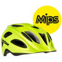 Lazer Beam Helm MIPS - Fluor Geel