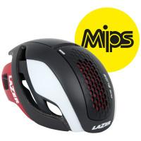 Lazer Bullet Helm MIPS - Mat Zwart/Wit/Rood