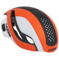 Lazer Bullet Helm - Mat Fluor Oranje/Wit