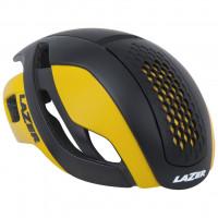 Aanbieding Lazer Bullet Helm - Maat M - Mat Zwart/Geel