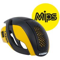 Lazer Bullet Helm MIPS - Mat Zwart/Geel