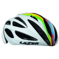 Lazer O2 Helm - Mat Wit WC