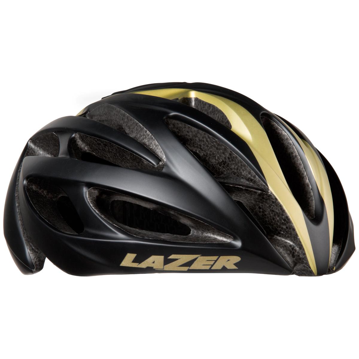Lazer O2 Helm Zwart Goud O2 Lazer Fietshelm