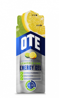 OTE Energy Gel - Lemon/Lime - 20 x 56 gram