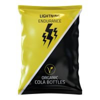 Lightning Endurance Cola Bottles - 1 x 70 gram